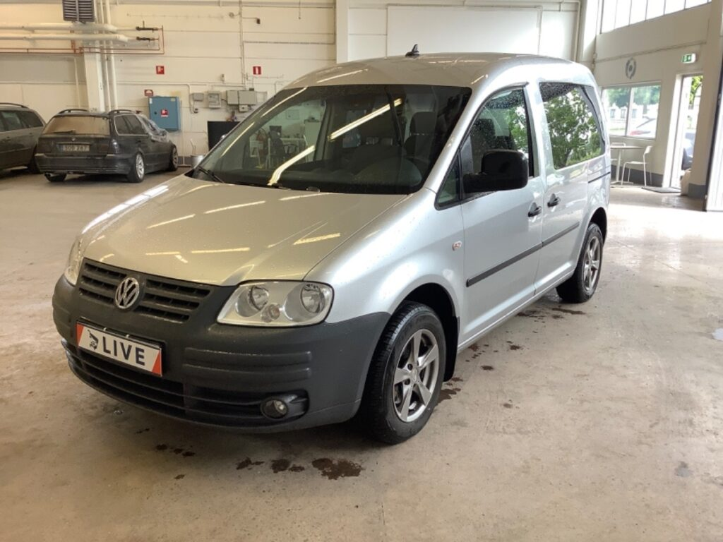 Volkswagen Caddy Life 1.9 TDI BlueMotion Manuell, 105hk, 2009