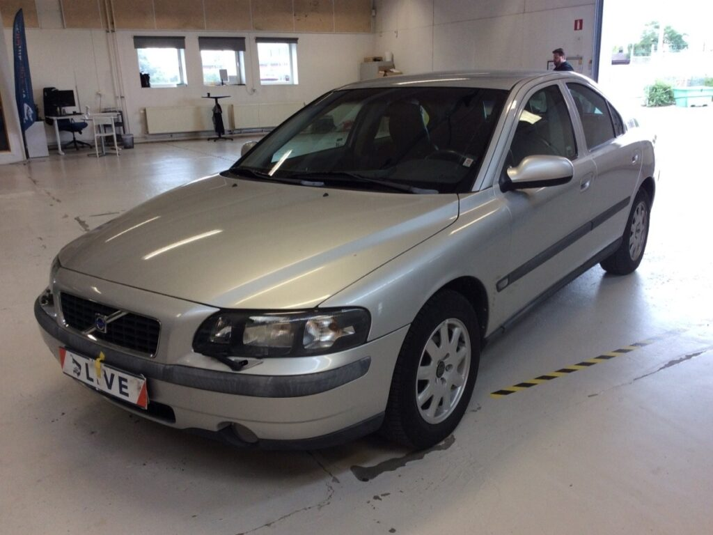 Volvo S60 2.4 Manuell 140hk, 2002, 5635 mil, 64500:-