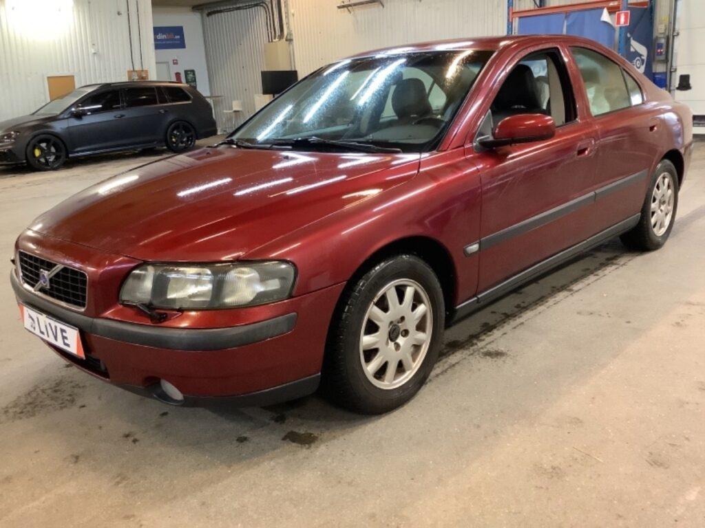 Volvo S60 2.4 Manuell 140hk, 2004, 8600 mil, 49500:-