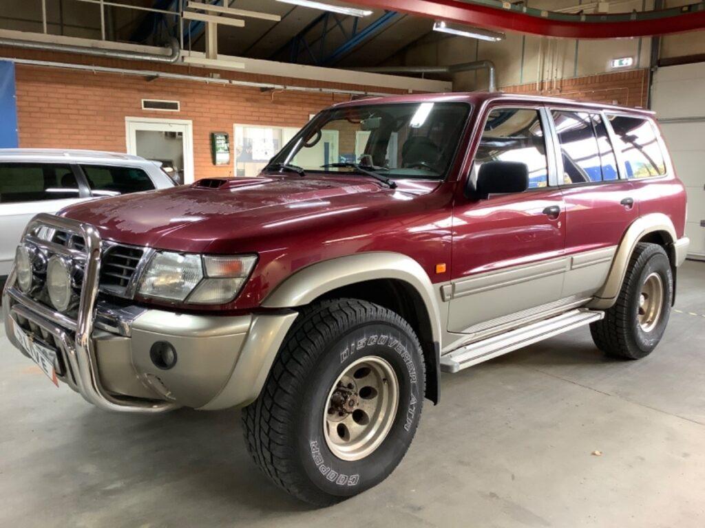 Nissan Patrol 5-dörrars SUV 3.0 4WD Automatisk, 158hk, 2001, 26300 mil, 99500:-