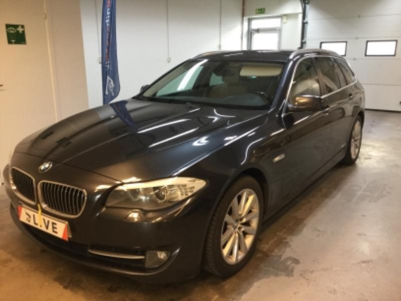 BMW 525d Touring Steptronic, 204hk, 2011, 23800 mil, 114500:-