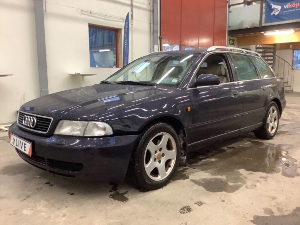Audi A4 Avant 2.4 V6 Quattro Manuell 165hk, 1999, 20800 mil, 29500:-