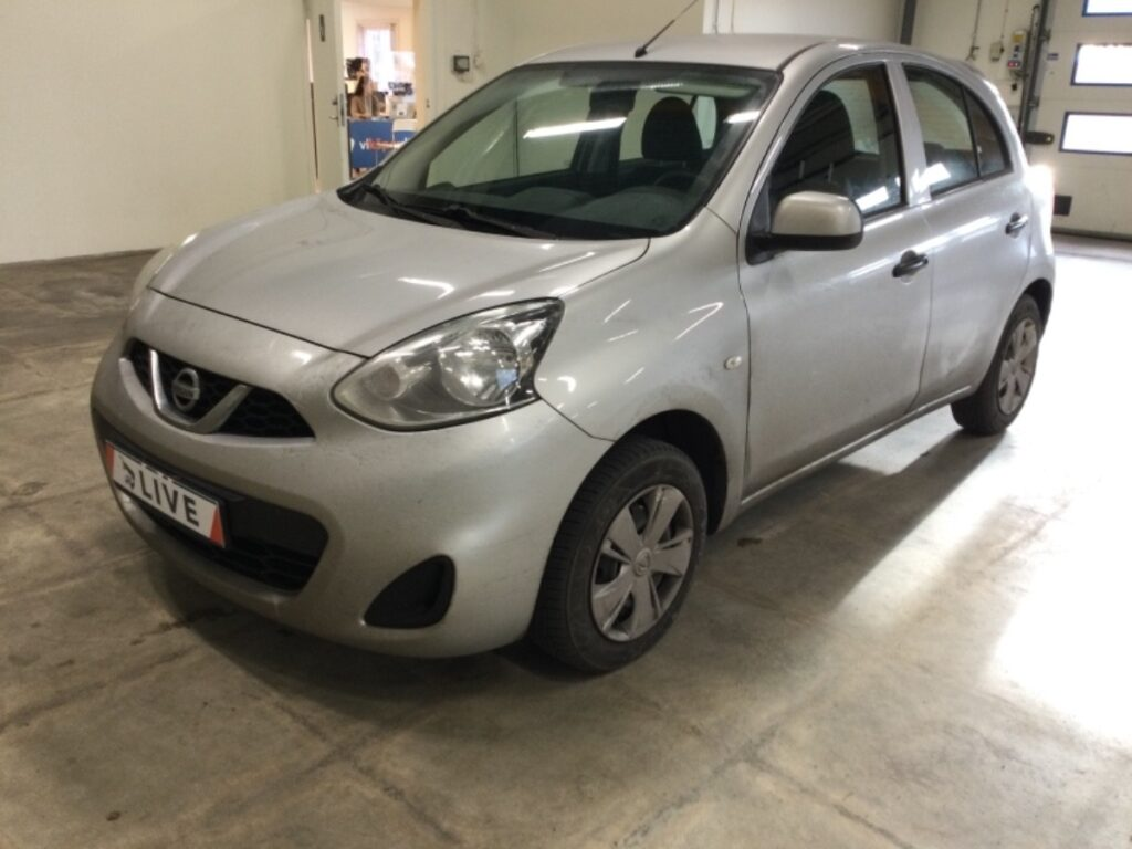 Nissan Micra 1.2 Manuell, 80hk, 2015, 7980 mil, 59500:-