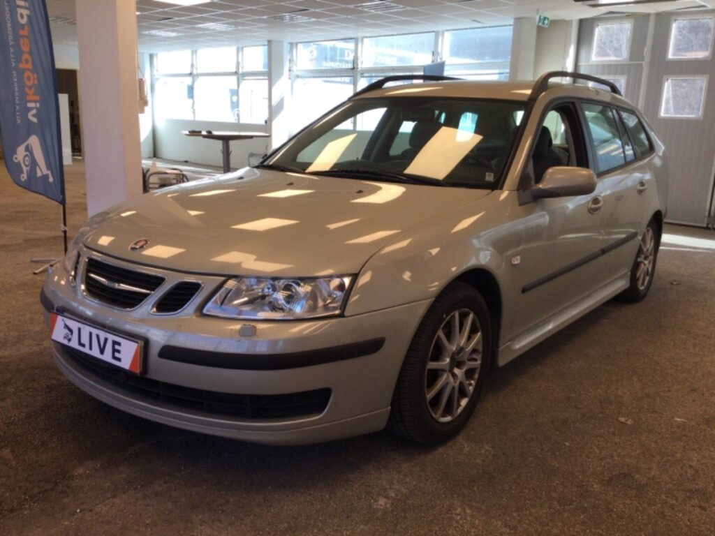 Saab 9-3 SportCombi 2.0 T Manuell, 175hk, 2006, 12600 mil, 39500:-